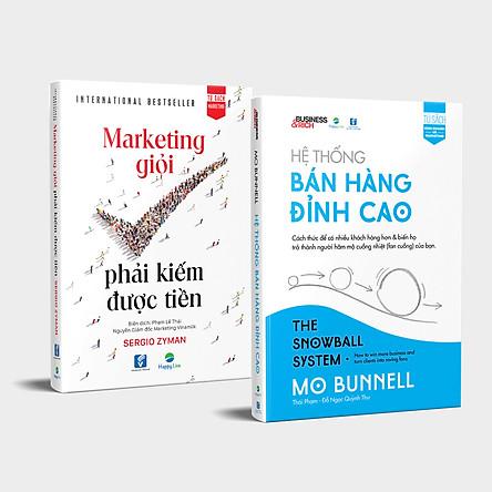 Bộ sách Marketing – Bán Hàng Đỉnh Cao