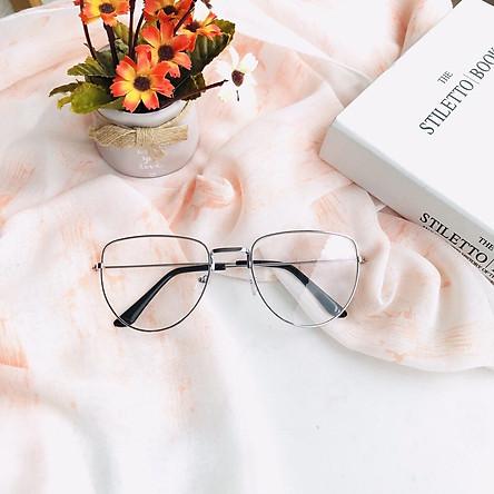 Mắt kính giả cận cao cấp gọng kim loại dành cho cả nam và nữ Jun Secrect BDHOT208