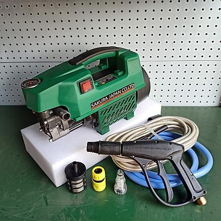 máy rửa xe 2500W cực mạnh sakura lõi dây đồng 100% giao màu ngẫu nhiên