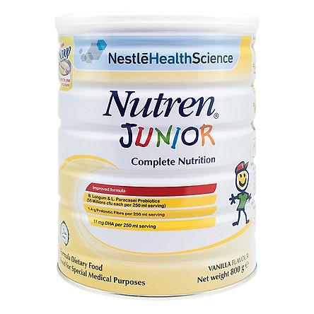 Sản Phẩm Dinh Dưỡng Nestle Nutren Junior (800g)