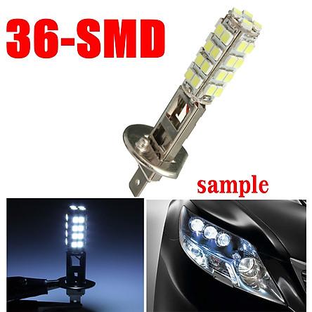 Car H1 Xenon White 36 SMD 5W LED Fog Beam Bulbs HeadLight HeadLamp Car 12V 6000k