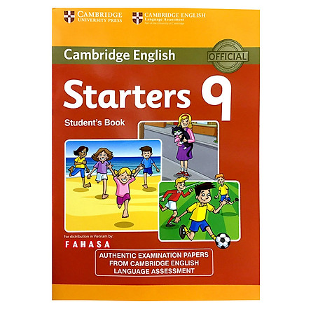 Cambridge Young Learner English Test Starters 9: Student Book