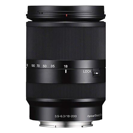 Lens Sony E 18-200mm F3.5-6.3 LE - Hàng Chính Hãng