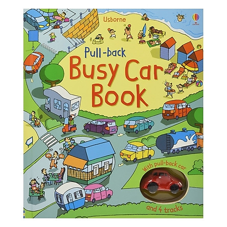 Pull- Back Busy Car Book