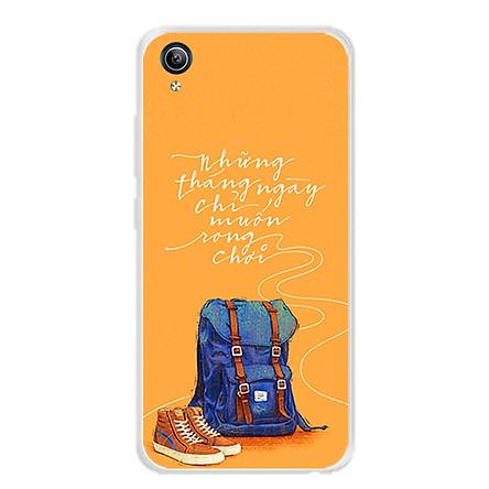 Ốp lưng dẻo cho điện thoại Vivo Y91C - 0215 NGAYTHANGRONGCHOI - Hàng Chính Hãng