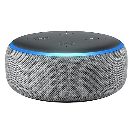 Loa Bluetooth Thông Minh Amazon Echo Dot 3 Trợ Lý Ảo Alexa - Hàng Chính Hãng