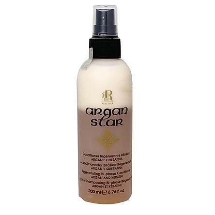 Xịt dưỡng 2 lớp dưỡng ẩm, phục hồi tóc Argan Regenerating Bi-Phase Conditioner Argan-Keratin 200ML