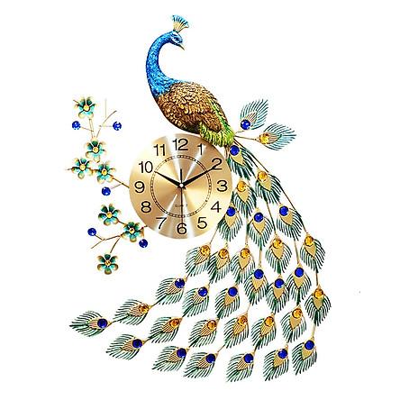 Đồng hồ con công trang trí nhà cửa Decor-09