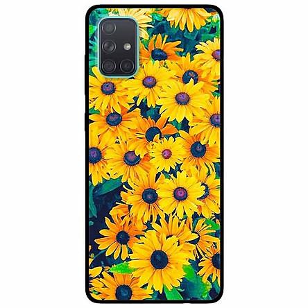 Ốp lưng dành cho Samsung A51 mẫu Vườn Cúc Vàng