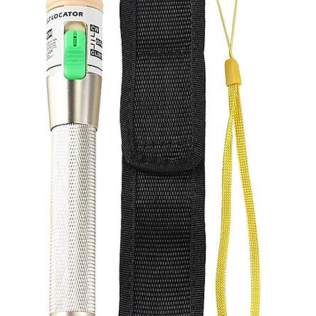 Bút soi sợi quang 30km bản màu vàng đồng đặc biệt Tặng kèm túi đựng và cặp pin AA