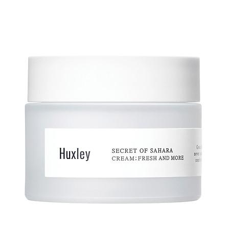 Kem dưỡng da ẩm mượt dạng gel cao cấp dành cho da khô da dầu Huxley Cream Fresh and More 50ml