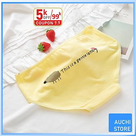 [XẢ KHO] Quần Lót Nữ Cotton Dễ Thương Mềm Mại Nữ Tính - Vải Cotton Mềm Mịn Thoáng Mát Hút Ẩm - Hàng Chất Lượng Cao - SIZE XL (52-65KG) - 11