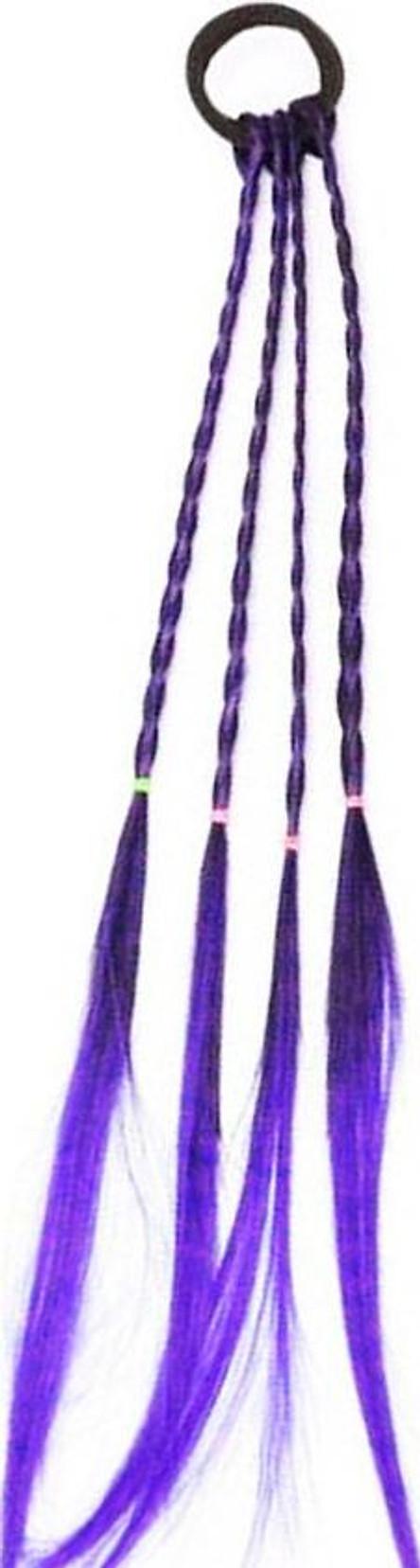Buộc tóc bím highlight