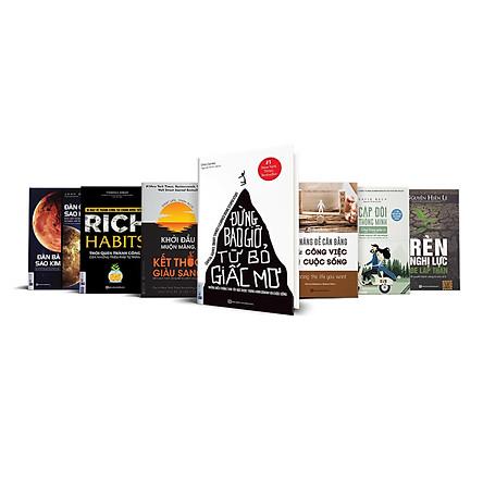 Bộ sách Người Đàn ông bản lĩnh - Đàn ông Sao Hỏa, Đàn bà Sao Kim + Cặp đôi thông minh sống trong giàu có - Đừng bao giờ từ bỏ giấc mơ + Kỹ năng để cân bằng công việc và cuộc sống + Rèn nghị lực để lập thân + Rich Habits Thói quen thành công của các triệu phú tự thân +Khởi đầu muộn màng kết thúc giàu sang