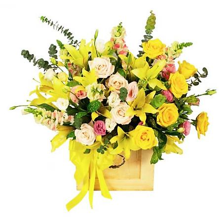 Hộp hoa tươi - Lung Linh Màu Nắng 4033