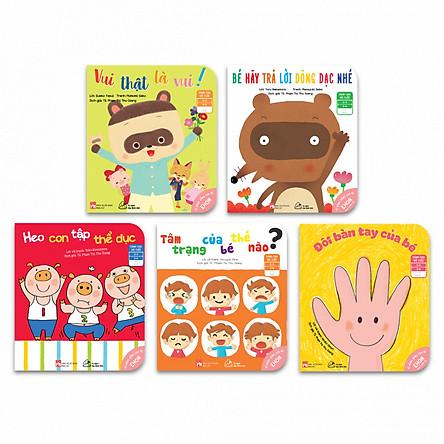 Bộ 05 cuốn Ehon Nhật Bản - Kỹ Năng sống cho bé 0-6 tuổi