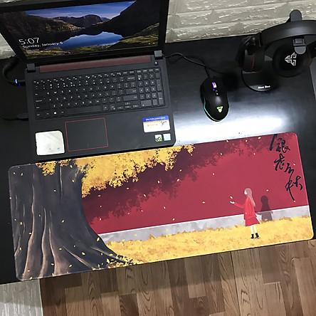 [80x30x0.3 - Nhiều mẫu] Miếng Lót Chuột, Bàn Di Chuột, mouse pad Cute dễ thương cỡ lớn