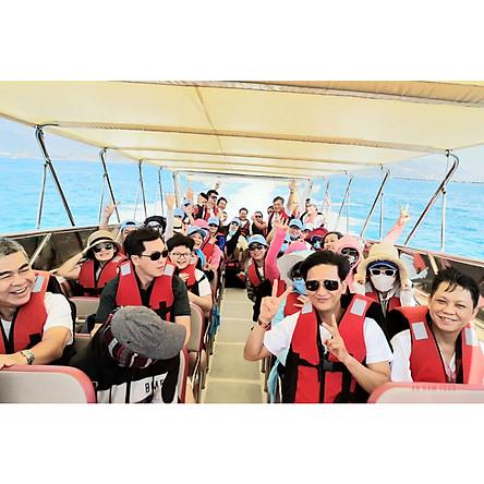 NHA TRANG - Tour 3 đảo 1 ngày: Hòn Mun - Làng Chài - Bãi Tranh, đi ca nô cao tốc, có ăn trưa đặc sản