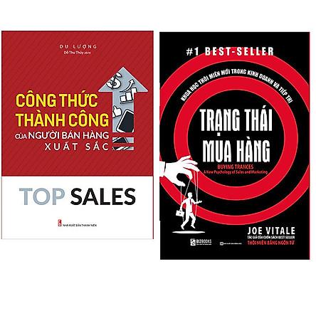 Combo Trạng thái mua hàng: Khoa học thôi miên mới trong kinh doanh và tiếp thị+Top Sales - Công Thức Thành Công Của Người Bán Hàng Xuất Sắc
