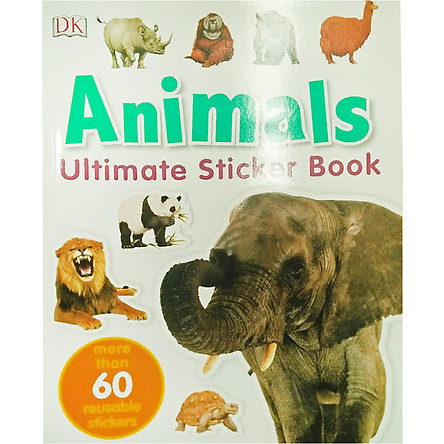 Ultimate Sticker Book Animal