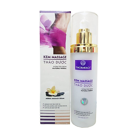Kem massage thảo dược hỗ trợ giảm mỡ thừa Thorakao 120g