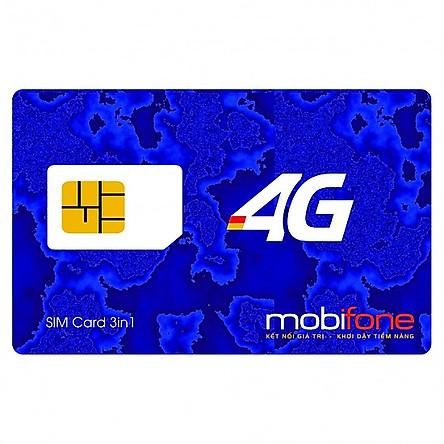 Sim 4G Mobifone Tặng 4GB/Ngày Gọi Nội Mạng 1000 Phút Đầu Số 09 - Tặng Tháng Đầu - Hàng Chính Hãng