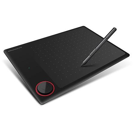 10moons G30 Graphics Drawing Tablet Ultralight Digital Art Creation Sketch 7.2x5.3 Inches with Battery-free Stylus 8 Pen