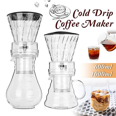 600ml Dutch Coffee Cold Water Drip Brewer Coffee Maker Machine Serve For 8 cups