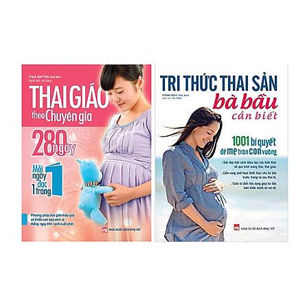 Combo Tri Thức Thai Sản Bà Bầu Cần Biết Và Thai Giáo Theo Chuyên Gia 280 Ngày TẶNG 365 Ngày Cùng Con Phát Triển Trí Tuệ (1 Chủ Đề Ngẫu Nhiên)