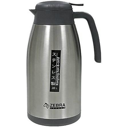Bình Giữ Nhiệt Smart Zebra 112966 (2L) - Bạc