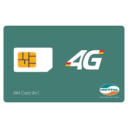 SIM 4G Viettel D500 Trọn Gói 4G 1 Năm Không Cần Nạp Tiền - Chính Hãng - Mẫu ngẫu nhiên