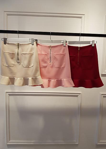 Váy túi đắp bèo tròn