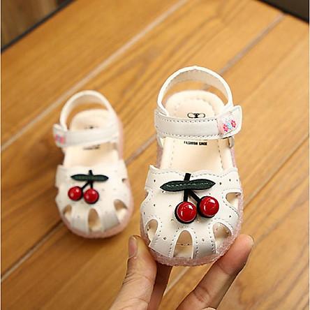 sandal cho bé gái tập đi Ankids502