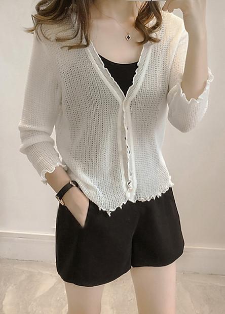 Áo khoác chất len mỏng nhẹ bền đẹp siêu xinh Morie Fashion