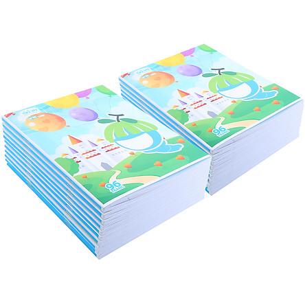 Combo 20 Cuốn Tập Học Sinh 4 Ô Ly 96 Trang DL 80 - Mẫu Ngẫu Nhiên