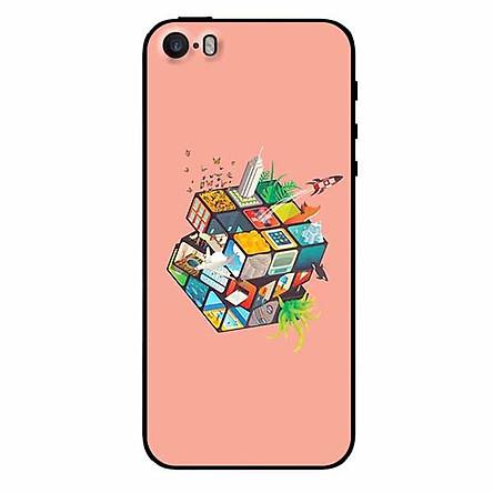 Ốp lưng in cho Iphone 5/ 5s/ 5se Rubik Cube