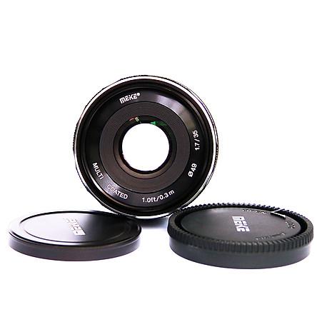 Ống kính Meike 35mm F1.7 cho Canon EOS-M manual focus- Hàng nhập khẩu