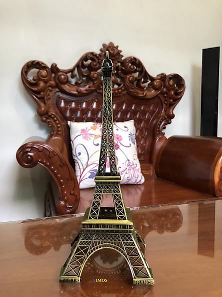 Mô hình tháp Eiffel bằng thép không gỉ-thích hợp dùng làm quà tặng sinh nhật, trang trí nhà cửa....