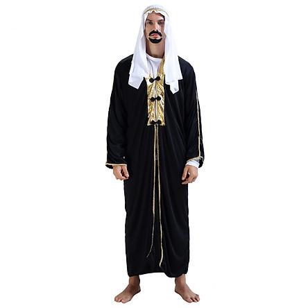 Trang Phục Hóa Trang Ả Rập Nam, Bộ Quần Áo Hoàng Tử Ả Rập Hoàng Tử Ba Tư - Mẫu 1