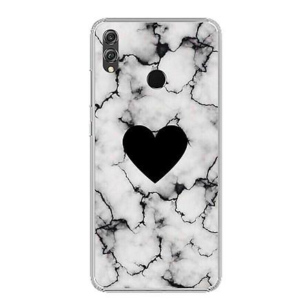Ốp lưng dẻo cho điện thoại Huawei Honor 8X - 0417 HEART07 - Hàng Chính Hãng