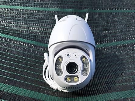 Camera wifi ngoài trời xoay 360 chống nước CARECAM CC8031 Bản Nâng Cấp Của 20HS, 3.0 MPx 1080P có kết nối máy tính, smart TV, Hàng nhập khẩu