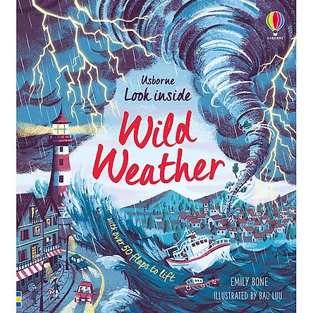 Sách Usborne Look Inside Wild Weather