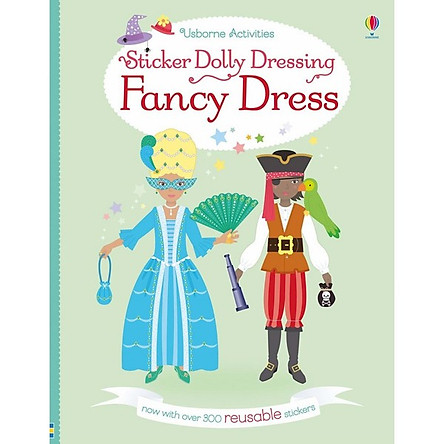 Usborne Sticker Dolly Dressing: Fancy Dress