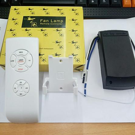 Bộ điều khiển quạt trần từ xa cao cấp - remote quạt - mạch điều khiển - DKQD