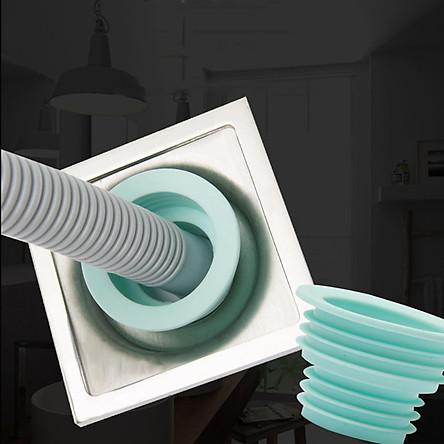 Phụ kiện Silicone chống mùi hôi vi khuẩn trào ngược lên cho máy giặt - Màu ngẫu nhiên
