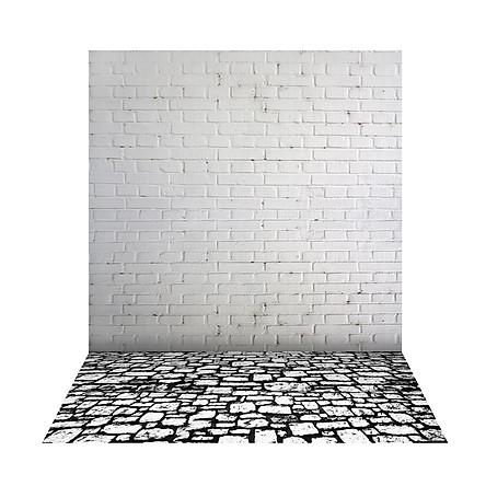 Phông Nền Chụp Hình Sàn Gỗ Hình Ngôi Sao Cổ Diển Cho Studio (1.5x2m)
