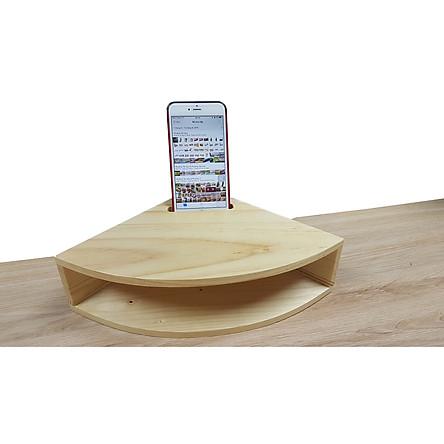 Loa gỗ khuếch đại âm thanh