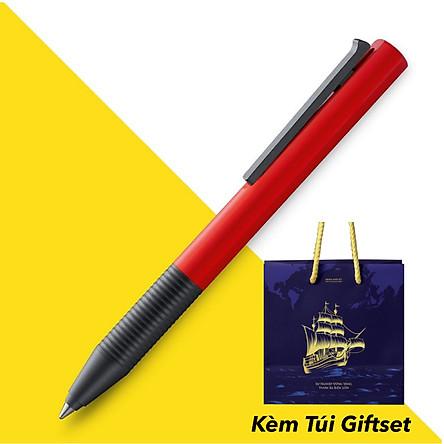 Bút Bi Cao Cấp Lamy Tipo B&J Kèm Túi Giftset '' Sự Nghiệp Vững Vàng - Vươn Xa Biển Lớn '' Cao Cấp