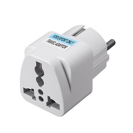Travel Universal Power Outlet Adapter UK US EU AU to EU Plug Conversion Plug Socket Converter Connector