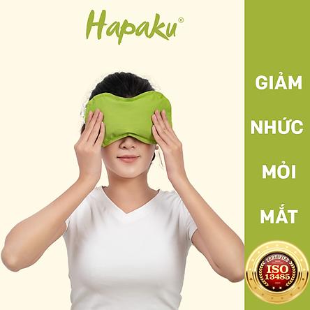 Túi chườm nóng thảo dược giảm đau nhức mỏi mắt dùng lò vi sóng - Hapaku
